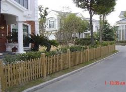 防腐木栏杆3